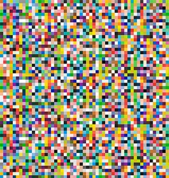 Colored Pixels Background vector image vector image