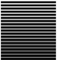 Metallic striped background vector image