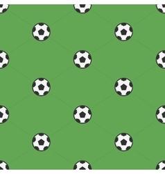 Soccer ball samples pattern vector image