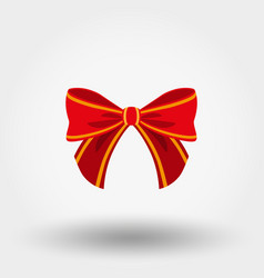 bow icon flat vector image