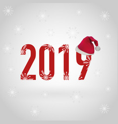 Happy new year 2019 eps file vector