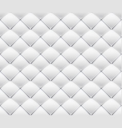 patchwork seamless white origami pattern vector image