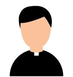 priest avatar religion man vector image