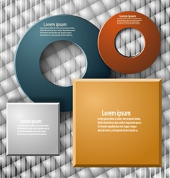 Set of elements for infographics vector image