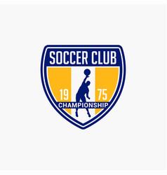Volleyball club badge logo-4 vector