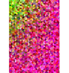 Colorful abstract 3d cube mosaic background vector image vector image