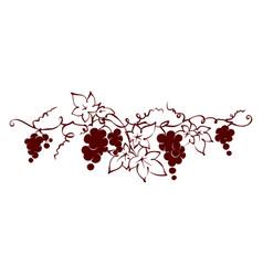 design elements - vine vector image vector image