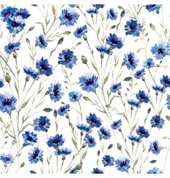 Blue flowers 9 vector