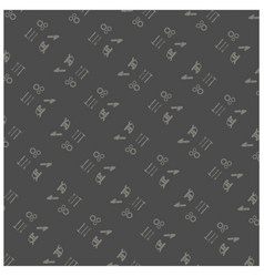 happy labor day pattern background vector image