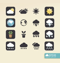 Modern weather color Design vector