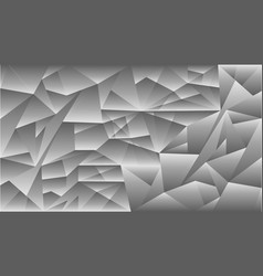 pattern triangle gray vector image