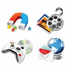 Set of multimedia vector