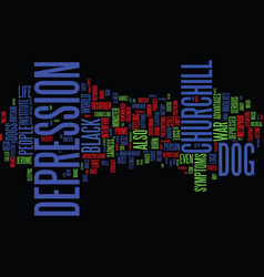 The black dog still barks text background word vector