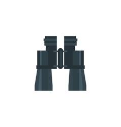 Binocular Field Glasses Flat Icon vector image