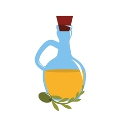 olive oil icon vector image