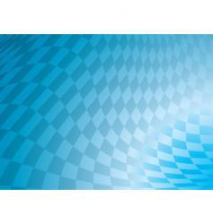 checkered blue vector image