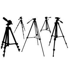 tripods vector image vector image