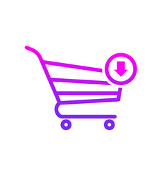 buy cart input shop store icon vector image
