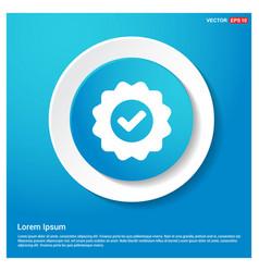 confirm icon vector image
