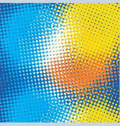 Dots halftone background vector