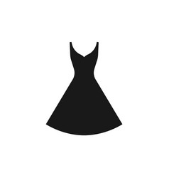 dres icon on white vector image