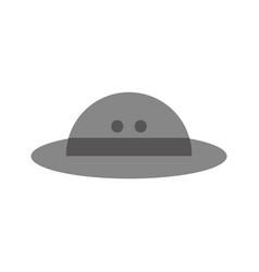 hat safari isolated icon vector image