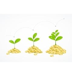 Money Tree Concept vector image