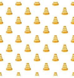 Road repair sign pattern cartoon style vector image