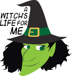 Witchs Life vector