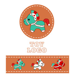 shop logo 1 vector image