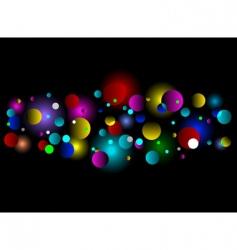 bokeh light effect background vector image