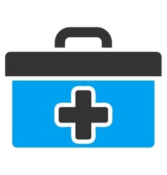 First Aid Toolbox Icon vector image vector image