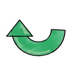 Arrow reload system sketch vector