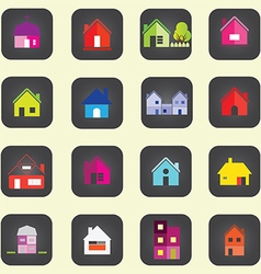 0308 House icon vector image