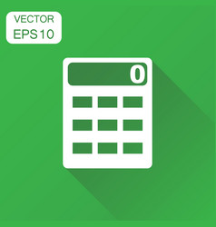 alculator icon business concept alculator vector image