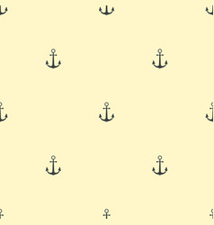 Anchor vintage pattern sea naval background symbol vector