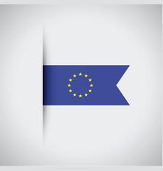 European flag vector