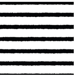 hand drawn stripes seamless background vector image