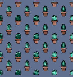 seamless pattern with simply hand drawn vector image
