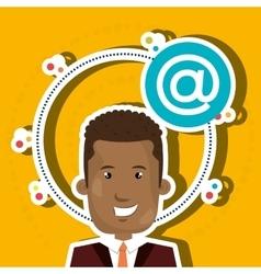 Social media marketing design vector
