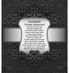 Vintage background for invitations vector image vector image