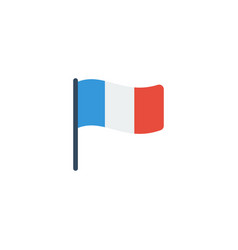 flat icon france element of vector image