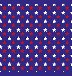 independence day of america seamless pattern july vector image vector image