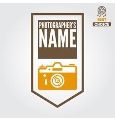 Logo emblem print sticker label and logotype vector image vector image