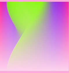 Plastic pink proton purple and ufo green trend vector