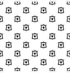 Royal shield pattern seamless vector