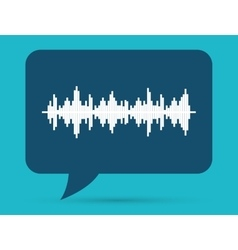 Sound of voice vector image vector image