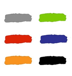 Torn Paper Set With Color Backgrounds vector image