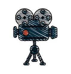 Video camera icon image vector