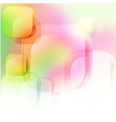 Abstract background of squares vector image vector image